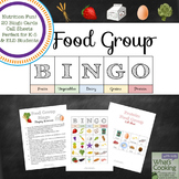 Food Group Bingo - Nutrition Education