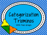 Categorization Triominos with Food Groups