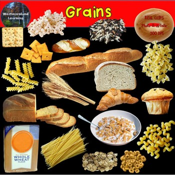 Food Group Clip Art Grains Photo & Artistic Digital Stickers
