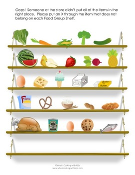 Food Group Mega Bundle: Nutrition Games and Cooking Activities