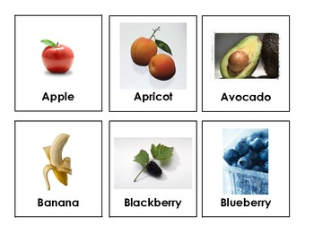 Food Group Flash Cards by Jaime Somers-Smith | Teachers Pay Teachers