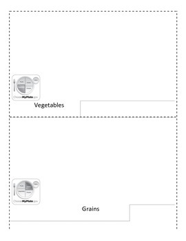 Food Group Flip Book