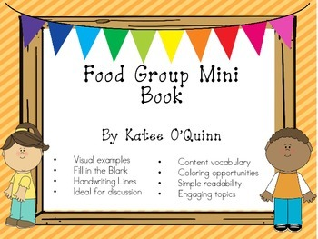 Food Group Mini Book