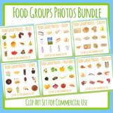 Food Group Photos - Big Bundle - 72 Photographs Health / N