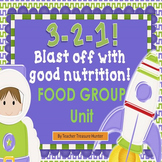 Food Group Posters ~ MY PLATE ~ Teaching unit for food groups