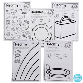 Food Group Posters and Worksheets