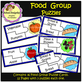 Food Group Puzzles (School Designhcf)
