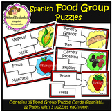 Food Group Puzzles - Spanish (School Designhcf)