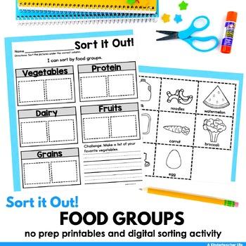 Food Groups Sort