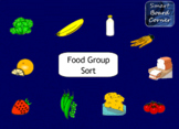 Food Group Sort SMART Board Lesson