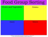 Food Group Sorting