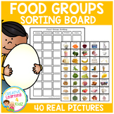 Food Group Sorting Board