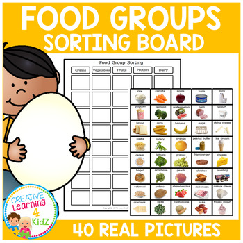 Food Group Sorting Board
