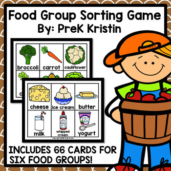 Food Group Sorting Game