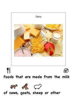 Food Group Visuals