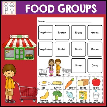 Food Group Worksheets | Teachers Pay Teachers