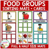 Food Groups Sorting Mats