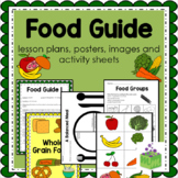 NEW Canadian Food Guide- Health- Nutrition- Lesson Plans and Activity Sheets