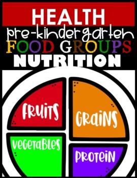 Nutrition Journal Food Groups FREEBIE!