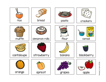 Let's Learn About Food Groups (Extended Standards Mini Unit) #SpedChristmas2