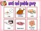 Food Groups Bingo