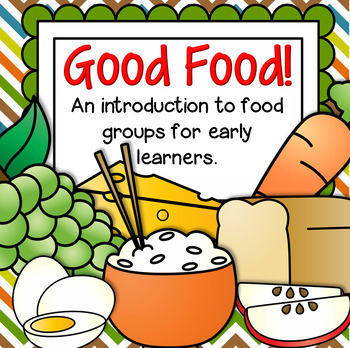 Food Groups Centers, Activities and Printables