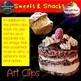 Food Groups Clip Art Sweets and Snacks Photo & Artistic Digital Stickers
