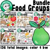 Food Groups Clipart Bundle