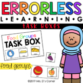 Food Groups Errorless Learning Task Boxes (6 task boxes in