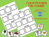 Food Groups File Folder