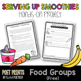 Healthy Eating Lesson, Smoothie Day