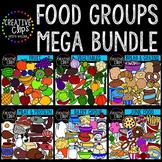 Food Groups Mega Bundle {Creative Clips Digital Clipart}