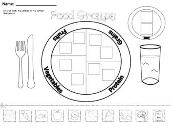 Food Groups Mini Unit