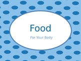 Food  Groups Nutrition PowerPoint with Real Photos Pictures