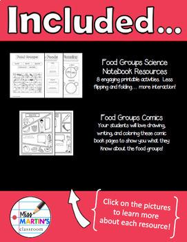 Food Groups Science Bundle