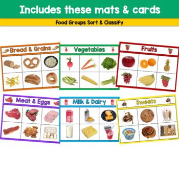 Food Groups: Sort & Classify