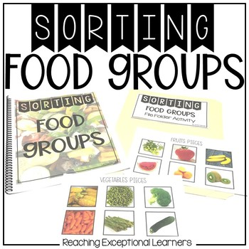 Food Groups Sort- Real World Photos- Special Education