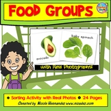 Go, Grow and Glow Foods - Food Groups Sorting Activity