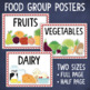 Food Groups Sorting Center and Posters