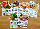 Food Groups Sorting Mats (w/Real Photos)