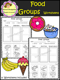 Food Groups - Worksheets (School Designhcf)