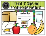 Food Groups and 'I Tried It' Slips (pdf)