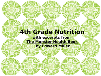 Food Groups and Meal Planning- Teaching Nutrition