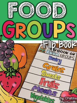 Food Groups flip book