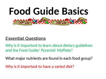 Food Guide Basics