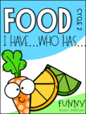 Food ''I have... Who has?'' Game