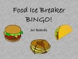 Food Ice Breaker BINGO!