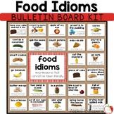 Food Idioms Bulletin Board Kit