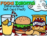 Food Idioms {Differentiated Task Cards Pack}