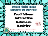 Food Idioms Interactive Notebook